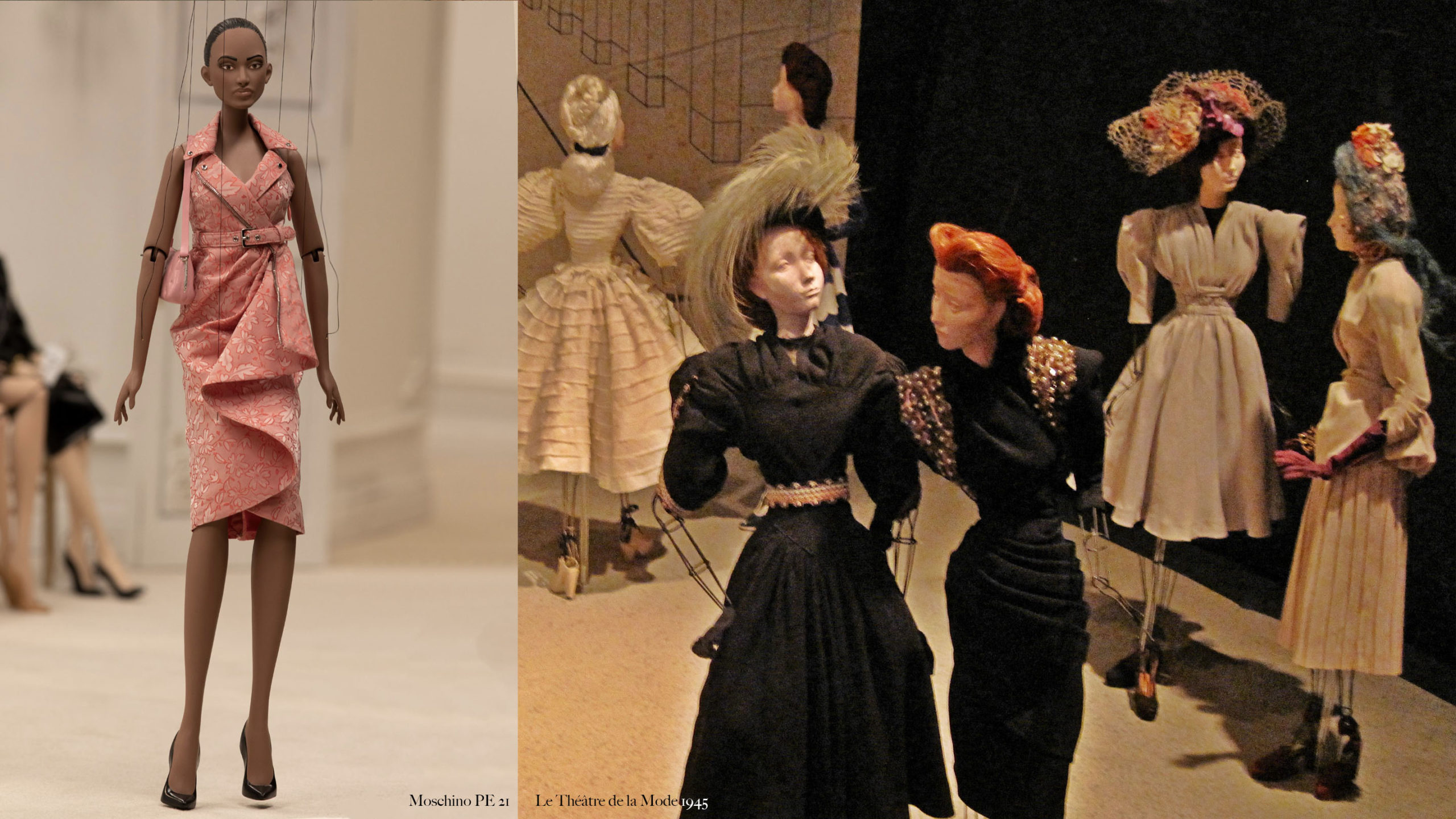 moschino théâtre de la mode