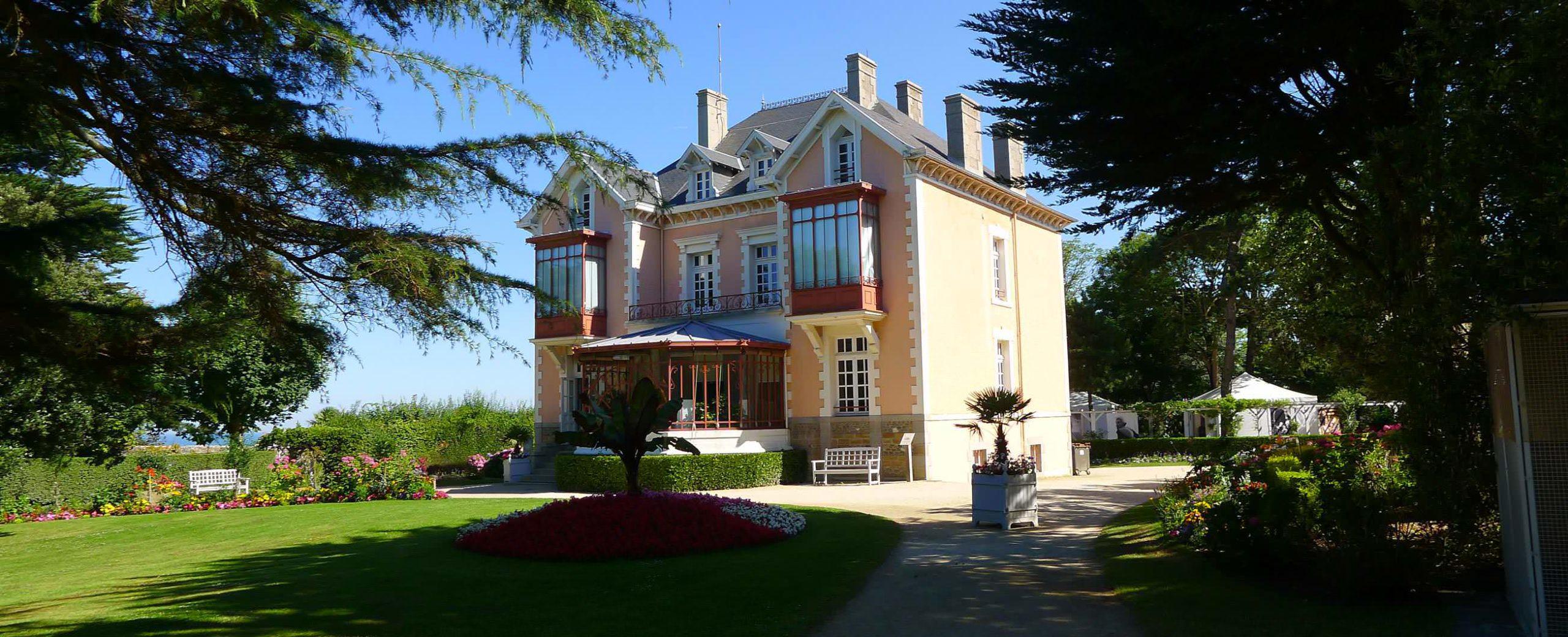 Maison et musée Christian dior à Granville en Normandie