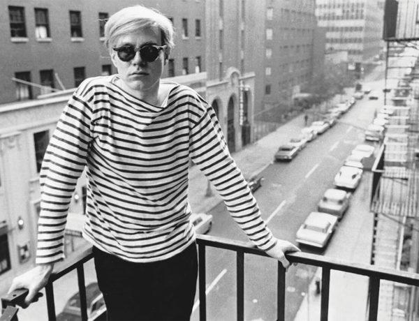 Andy Warhol en marinière à new-yorkais