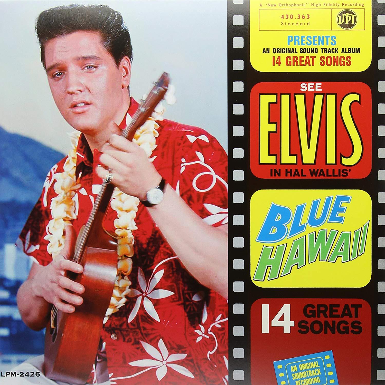Elvis Presley Blue Hawaï