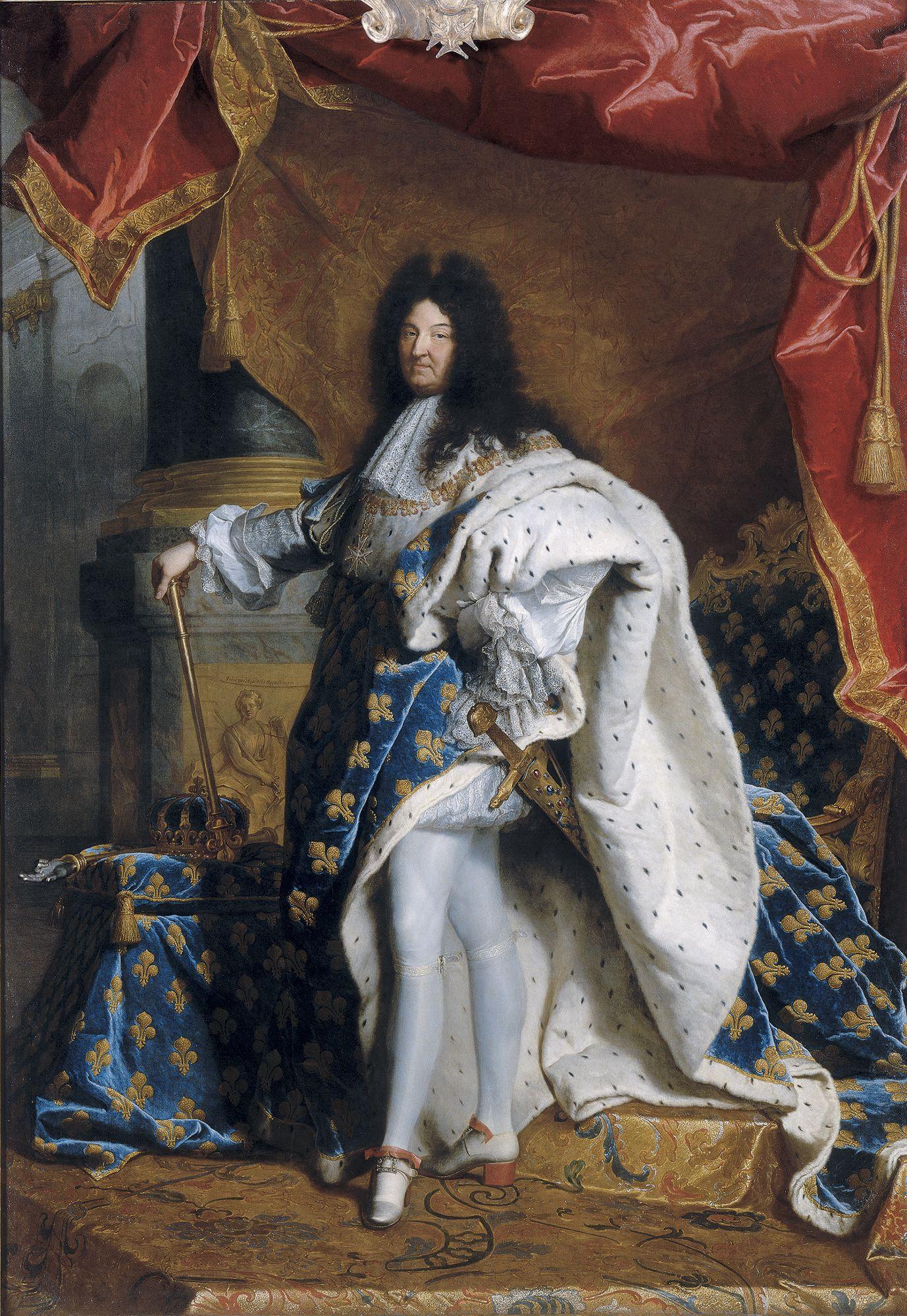 tableau Louis XIV Hyacinthe Rigaud